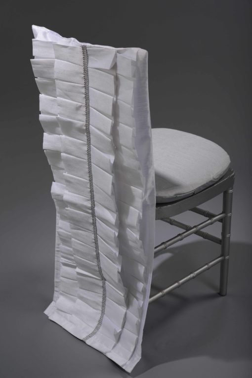white Lori chair back