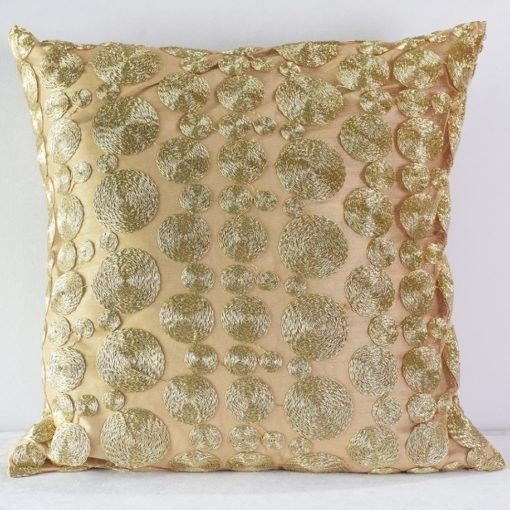 Gold Coin Pillow