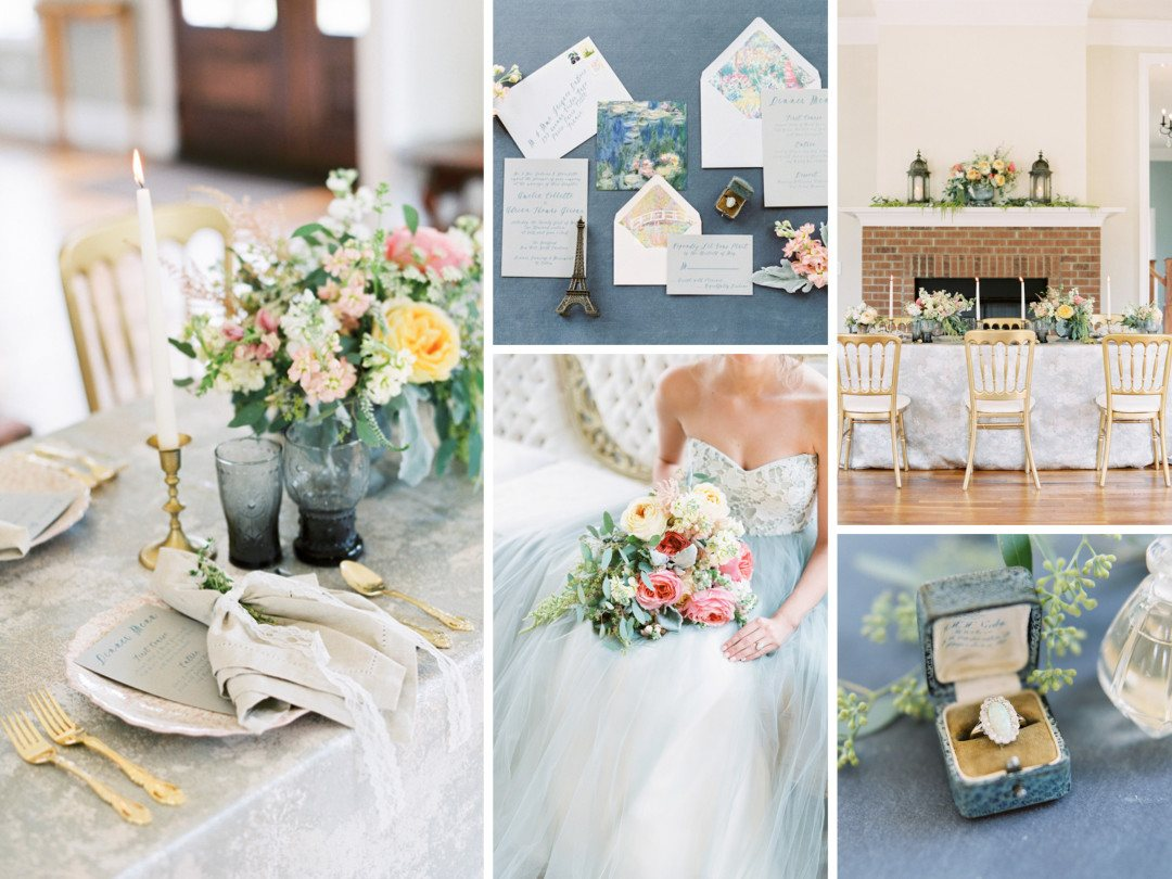 Impressionism: A French Inspired Wedding - Nüage Designs