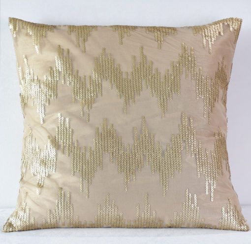 Gold Capitale Pillow
