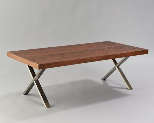 Walnut X Coffee Table