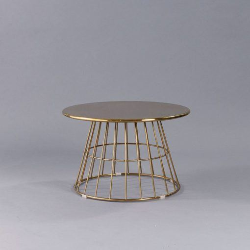 Gold Soho Coffee Table