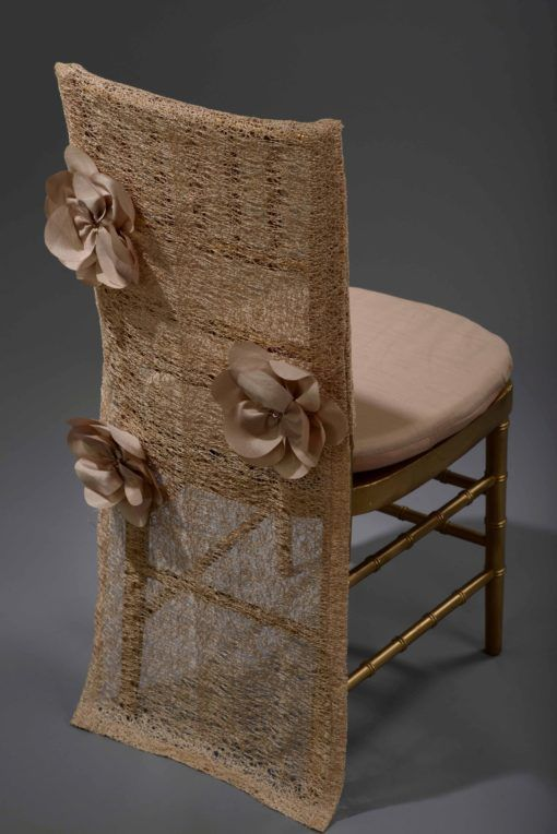 Champagne Heather Chair Back