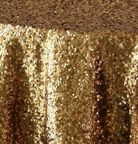 Dark Gold Sequin Taffeta 1