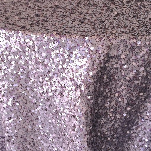 mystery orchid sequin taffeta