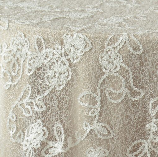 White French Lace