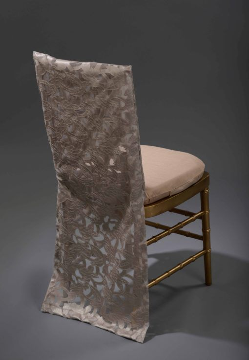 Champagne Iris Chair Back b