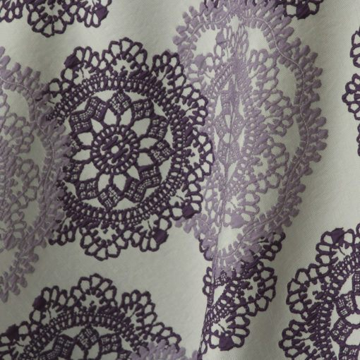 Purple Big Lace-