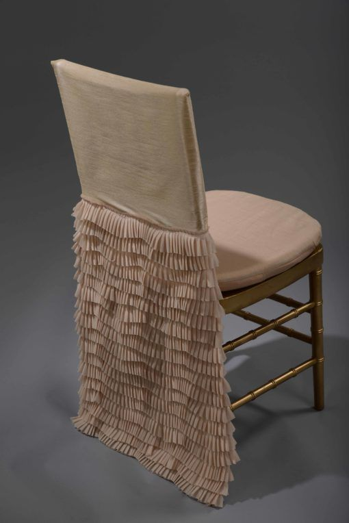 Champagne Antoinette Chair Back