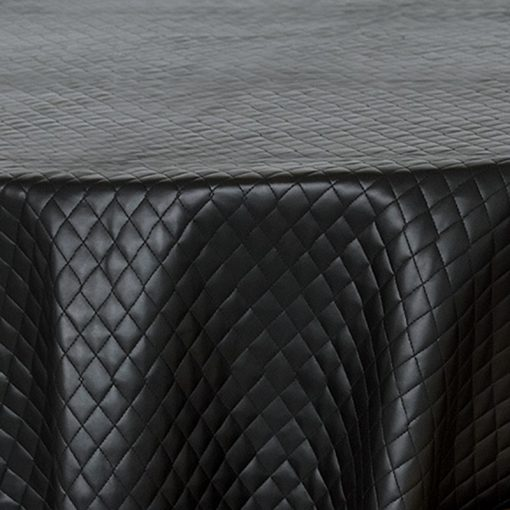 black-quilted-leather-linen