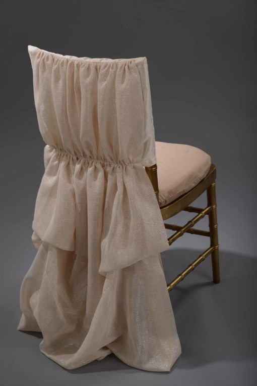 Champagne Athena Chair Cover