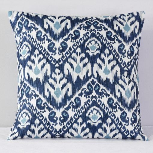 Amaya Blue Print Pillow