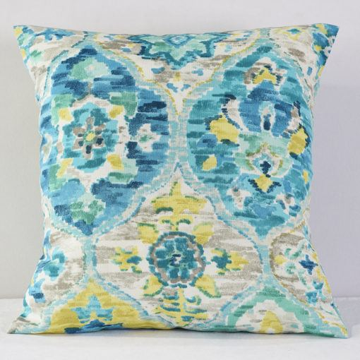 Carribean Blue Alibaba Pillow
