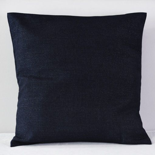Navy Western Pillow