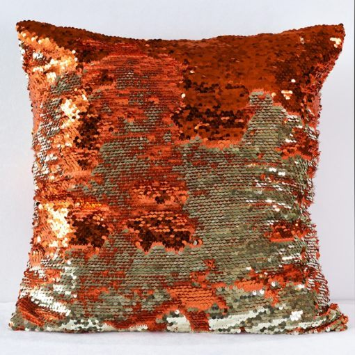 Orange Koi Pillow