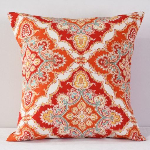 Tangerine Zoie Pillow