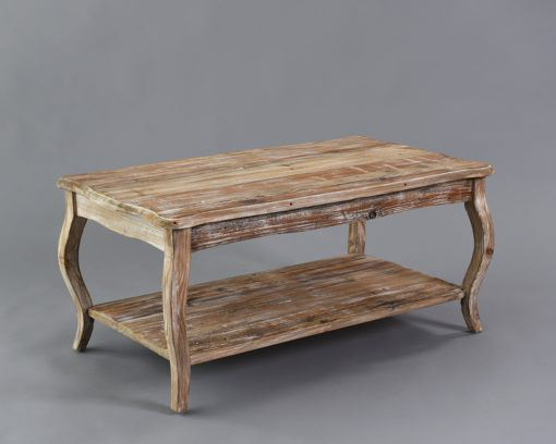 Vintage Wood Coffee Table  2