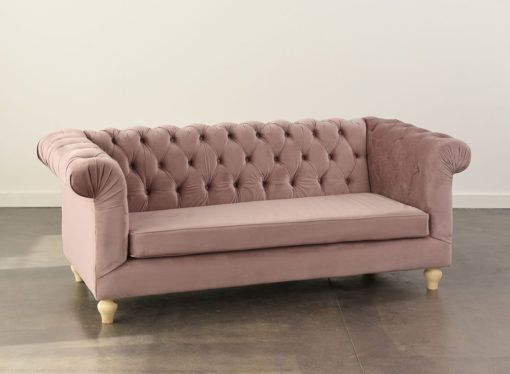 Rose Chesterfield Sofa