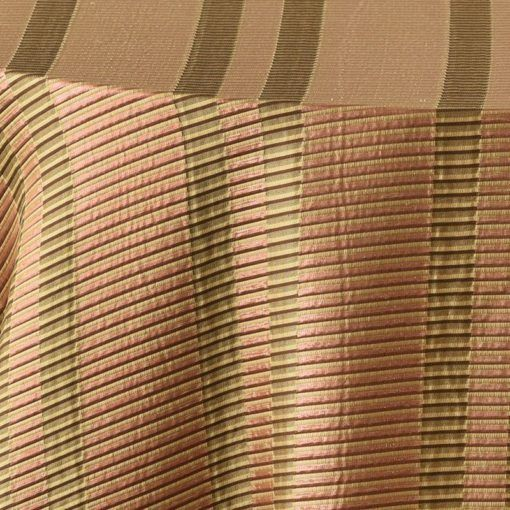 copper metallic stripe - close up
