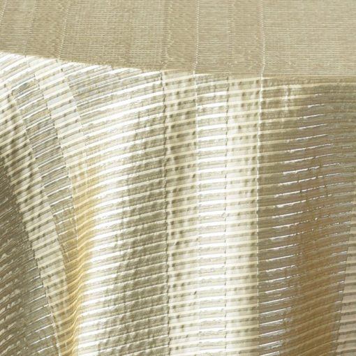 silver metallic stripe - close up