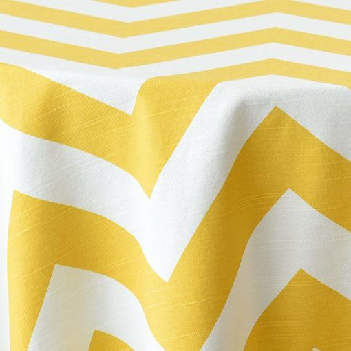 yellow chevron close up