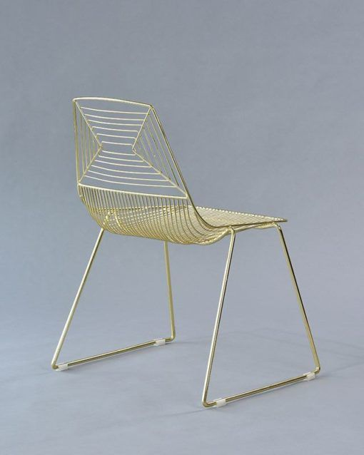 gold soho chair