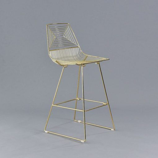 Gold Soho Stool