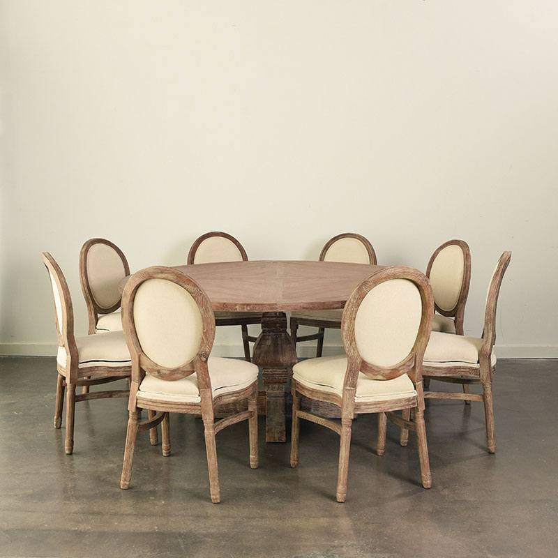 Maison Dining Table 66round Nüage Designs