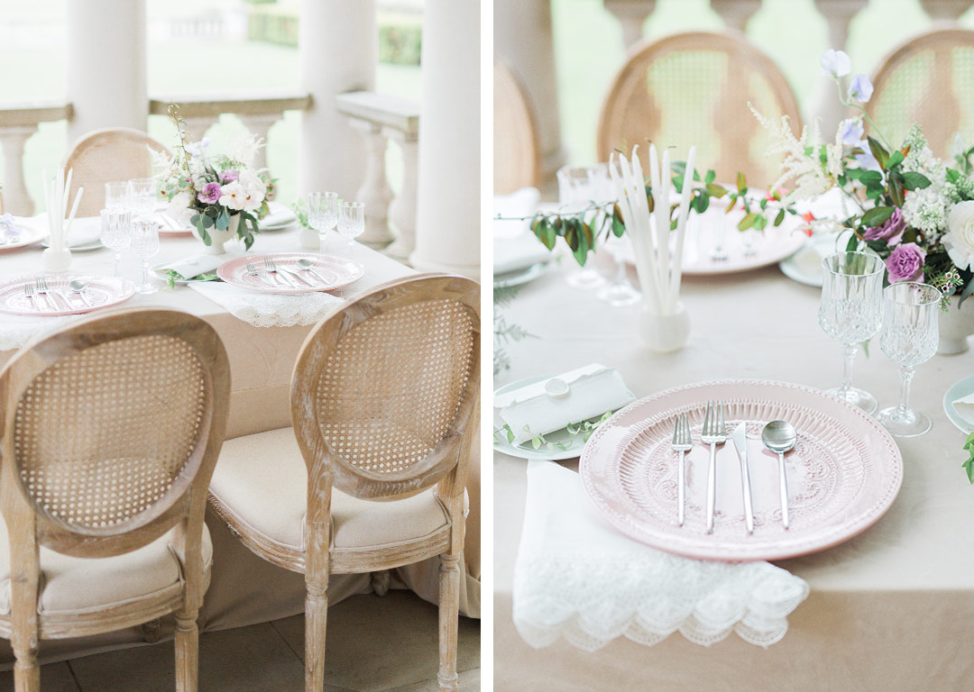 a5ee71a68df5 Add to that these French country chairs, from White Glove Rentals, and the  most delicate flowers, from Casa Delirio, and this comes together for a  truly ...