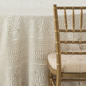 White Isabella Lace