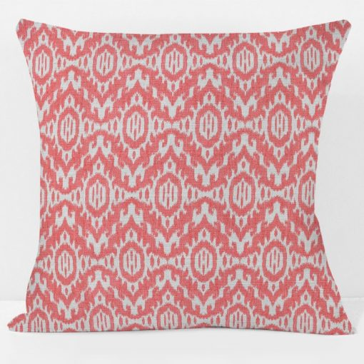 Coral Abaco Pillow