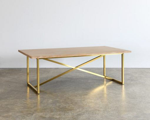Tribeca Table with Natural Top 2